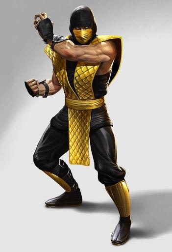 Scorpion-character-render-classic-costume-MK-II-Mortal-Kombat-2011-MK-9